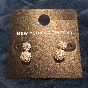 NWT New York and Company Stud Earrings Set of Two